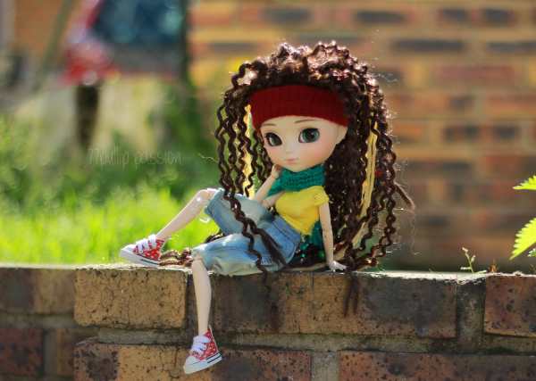 [Ma sixime pullip] ///La rasta girl /// Emma (Ddalgi) ~&#9829; 